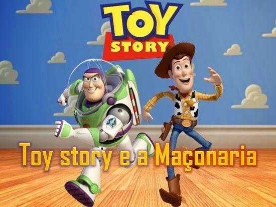 toy story e a maçonaria - Priscila e Maxwell Palheta