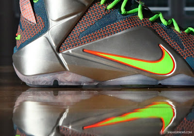 nike lebron 12 gr trillion dollar man 1 08 Nike LeBron 12 Trillion Dollar Man Pics & Release Date