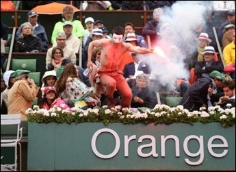 protesto Roland Garros casamento gay