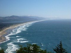 Nehalem Bay State Park from Neakahnie Mountain.