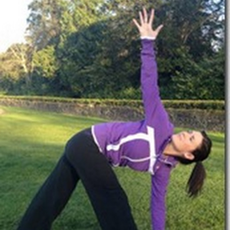 Anne Marie Kennedy-Yoga For Golf- Reverse Triangle For Increased Rotation