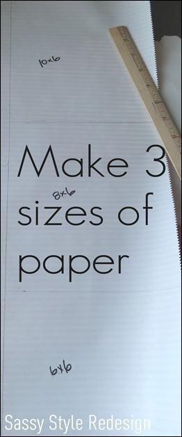 pixie stick paper sizes