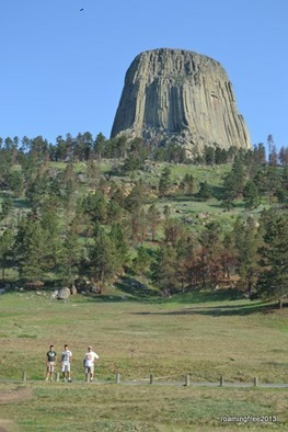 On our way to Devils Tower