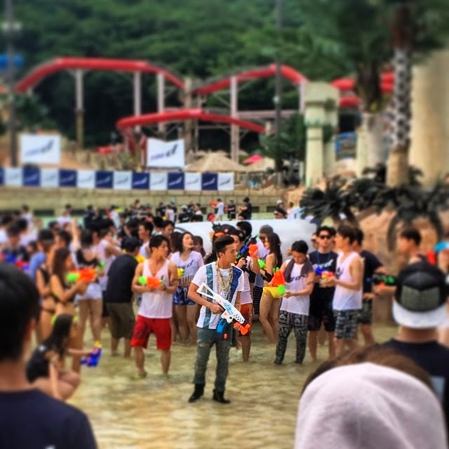 G-Dragon - Hite - 2014 - Ocean World - 04jul2014 - Fan - Pepeshin - 01.jpg