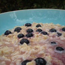 Apple Blueberry Oatmeal