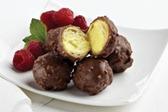 Choc Hazlenut Cream Puffs