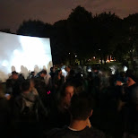 trinity bellwoods park nuit blanche in Toronto, Ontario, Canada