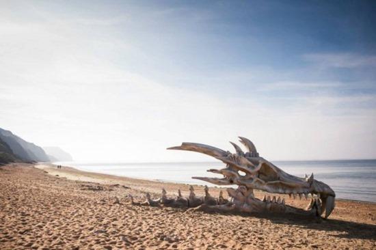 Esqueleto de dragão 01