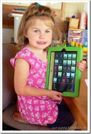 Our Aussie Homeschool ~ Handwriting Wtihout Tears App