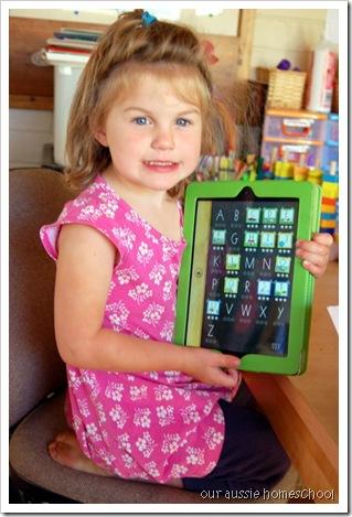 Our Aussie Homeschool ~ Handwriting Wtihout Tears App