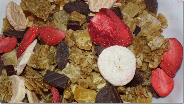 Homemade Banana Split Granola