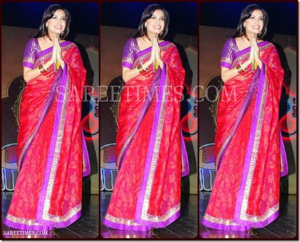 Aarti_Chabria_Pink_Designer_Saree