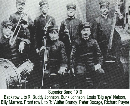 Bunk Johnson - Superior Band 1910.jpg