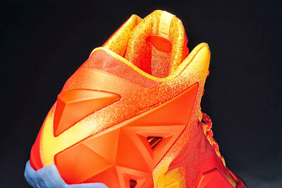 nike lebron 11 gr atomic orange 4 06 forging iron New Look at Forging Iron LeBron XI and Its Sick Packaging!