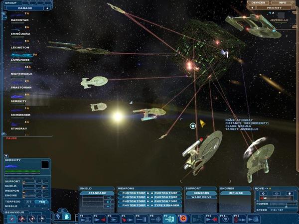 federation_fleet_engaging_a_borg_cube
