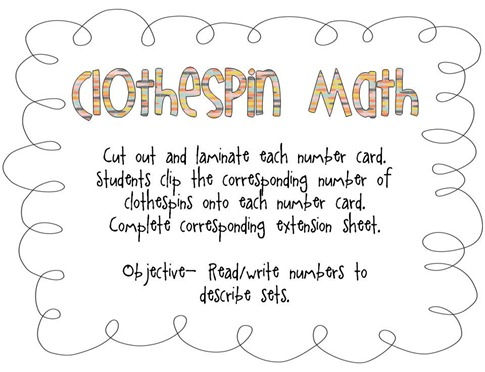 ClothespinMath