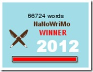 NaNoWriMo 2012 - Winner (1)