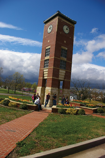 The bell tower located in West Plains Missouri. (Photo provide by the MSU West Plains University)