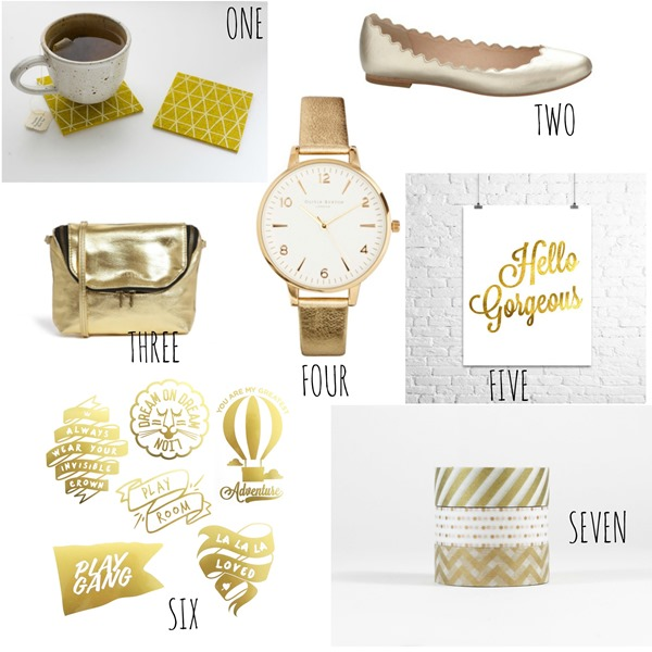 Friday Faves (Golden)