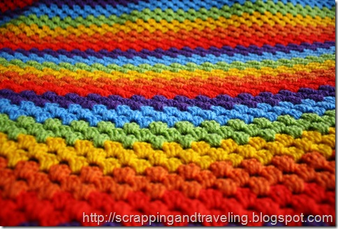 Crochet Rainbow Blanket