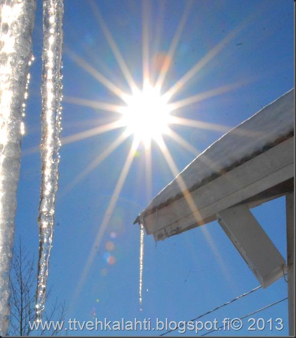 aurinkoinen ilma jääpuikko 076