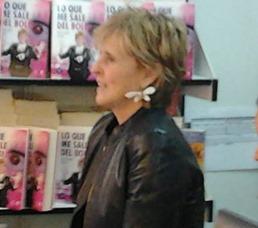 Mercedes Milá en la Feria del Libro