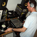dj evan on the decks in Toronto, Ontario, Canada