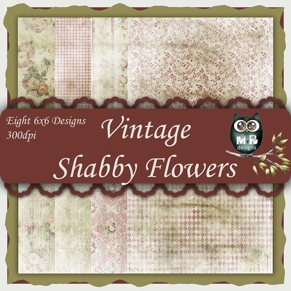 Vintage Shabby Flowers Front Sheet