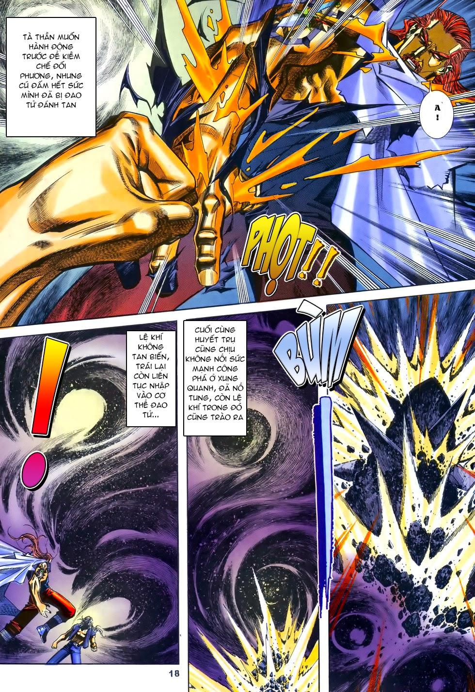 X Bạo Tộc chap 69 - Trang 18