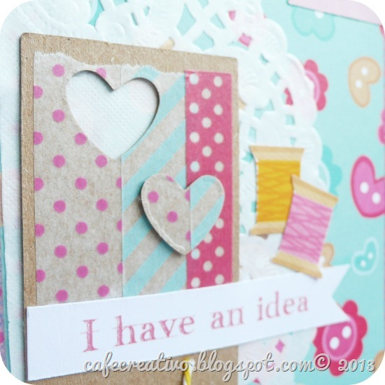 cafecreativo - Sizzix - taccuino schizzi craft - notebook