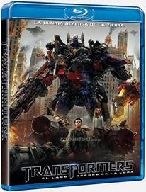 หน้าปก DVD และ Bluray ของ Transformer Dark Of The Moon