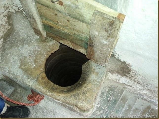 Pozo para suministro de agua potable en su época