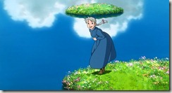 Howls Moving Castle Sophie in the Flowers