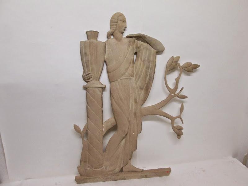 Greco Deco Style Relief