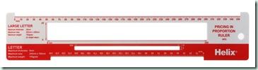 postal ruler