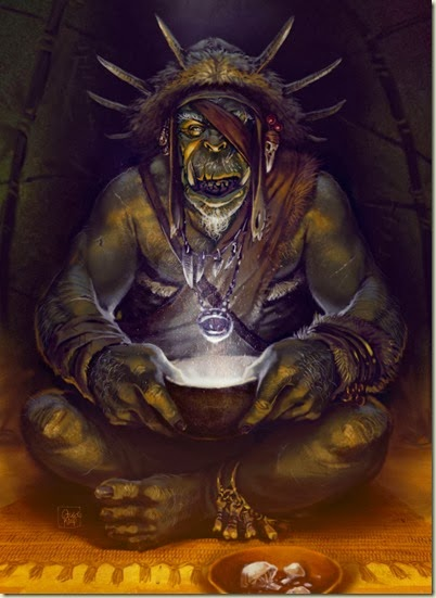 Orc_Shaman_2d_fantasy_character_orc_shaman_mushroom_meditation_picture_image_digital_art