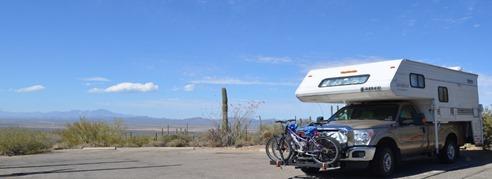 High Above the Desert...Saguaro NP!