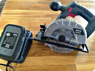master mechanic cordless circular saw