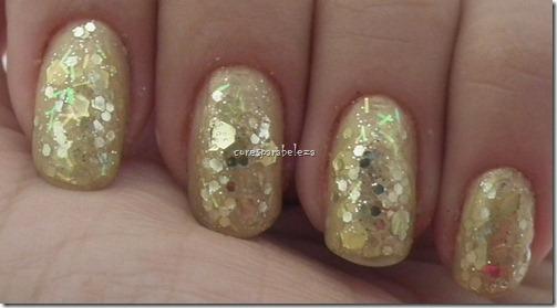 Cores para beleza - glitter
