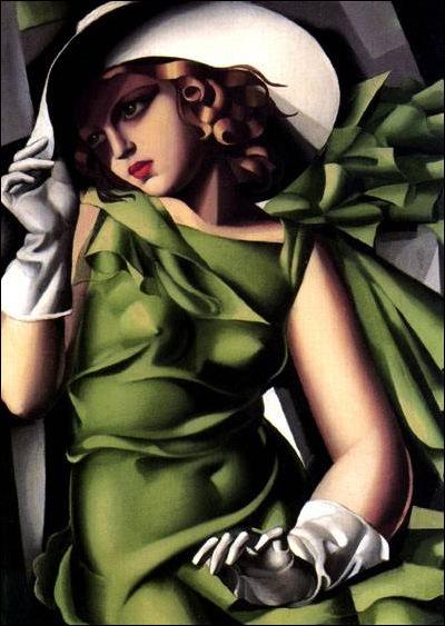 Tamara Lempicka, femme au gant