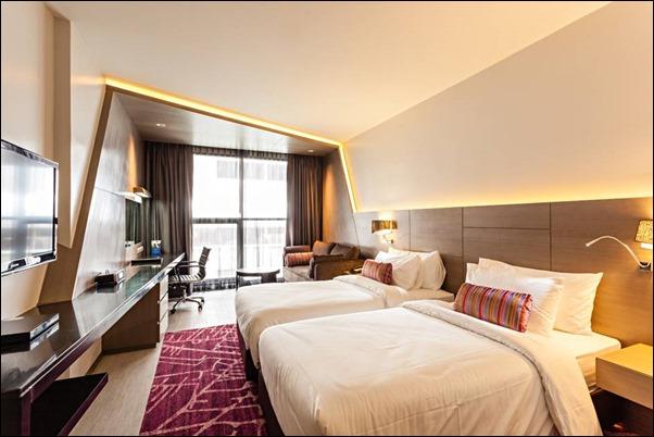 غرف فندق بيست ويسترن بانكوك تايلاند