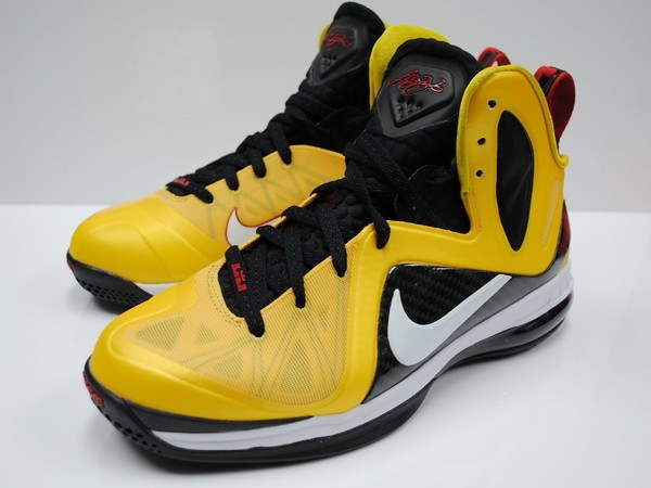 Nike LeBron 9 PS Elite Varsity Maize Black White