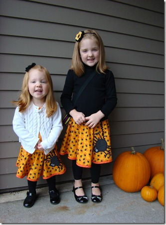 Happy Halloween skirts