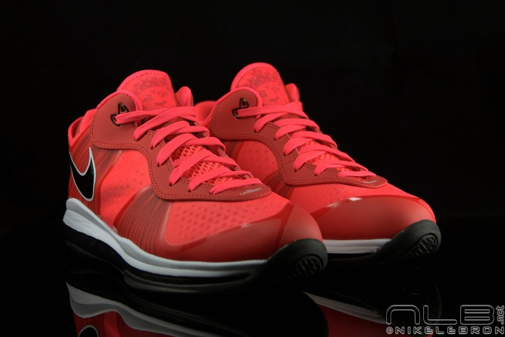 the showcase nike air max lebron 8 v2 low quotsolar red