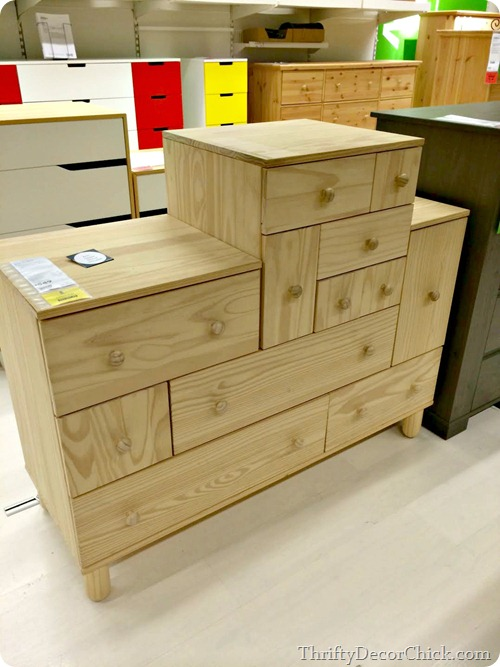stackable ikea dresser