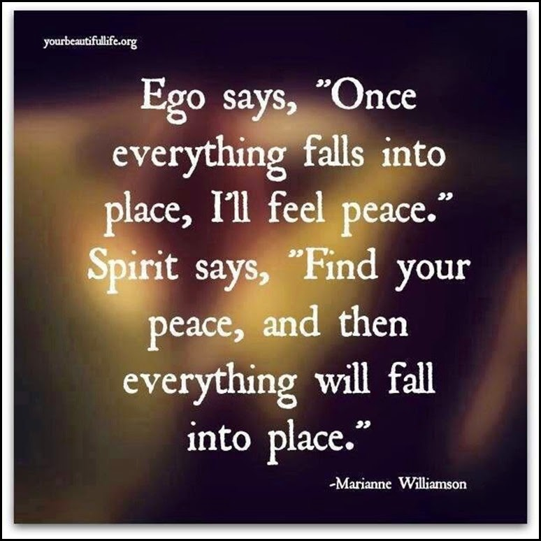 peace and ego