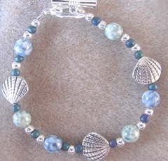 Cape..scallop bracelet