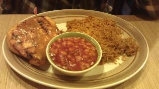Fernandos chicken and beans Loughborough