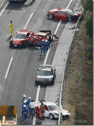 Ferrari kemalangan 2