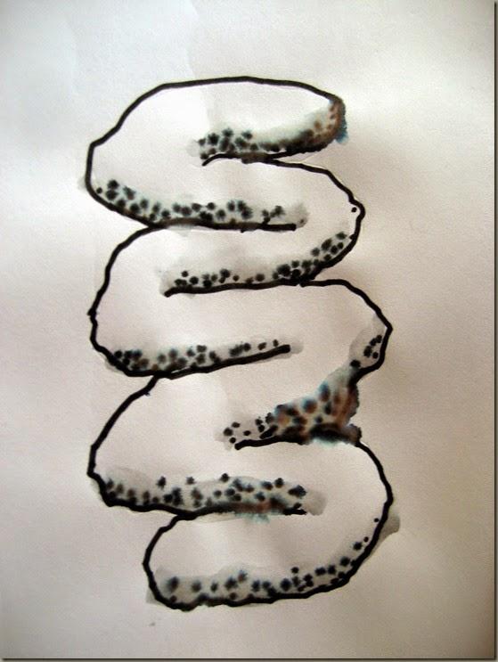 Slip-trail squiggle